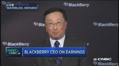 BlackBerry is 'financially under control': CEO