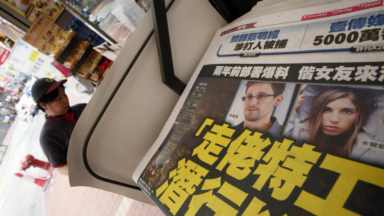 Secret program leaker Snowden goes dark in HK