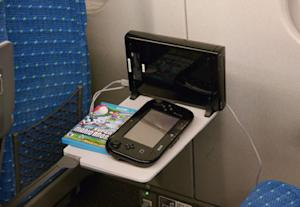 Play Your Wii U Anywhere -- Even on a Train
