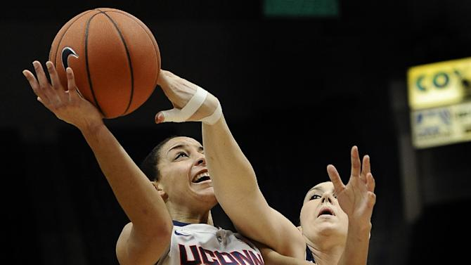 Top-ranked UConn routs UC Davis 97-37