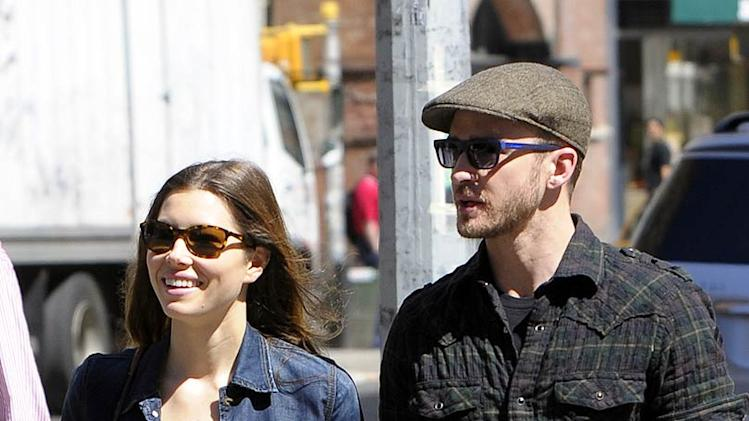 Biel Timberlake Out InNYC