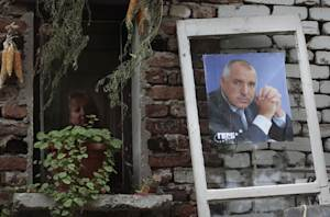 A pre-election poster of Bulgaria's former prime…