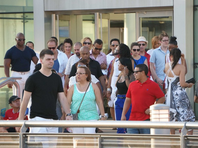 Oncruises customers unhappy