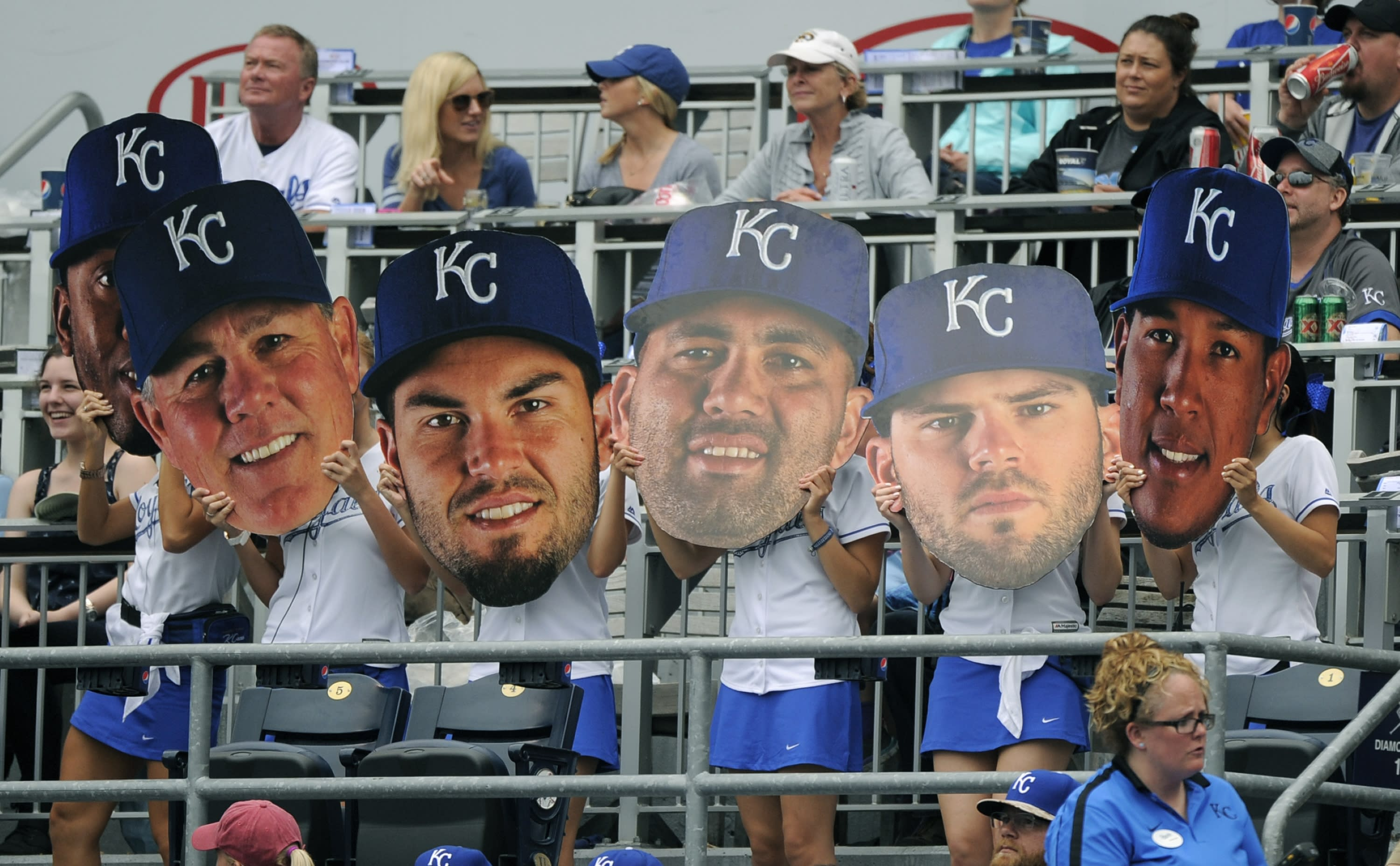 The first batch of All-Star vote tallies are out and the Royals are dominating