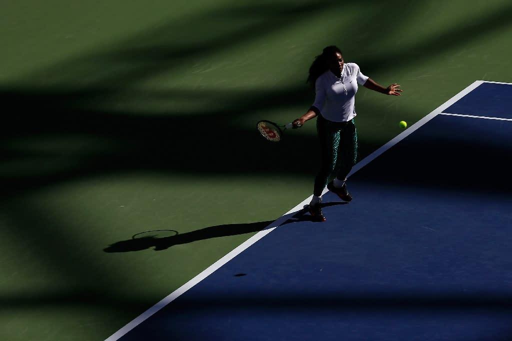 Serena, Djokovic, Nadal start Monday at US Open