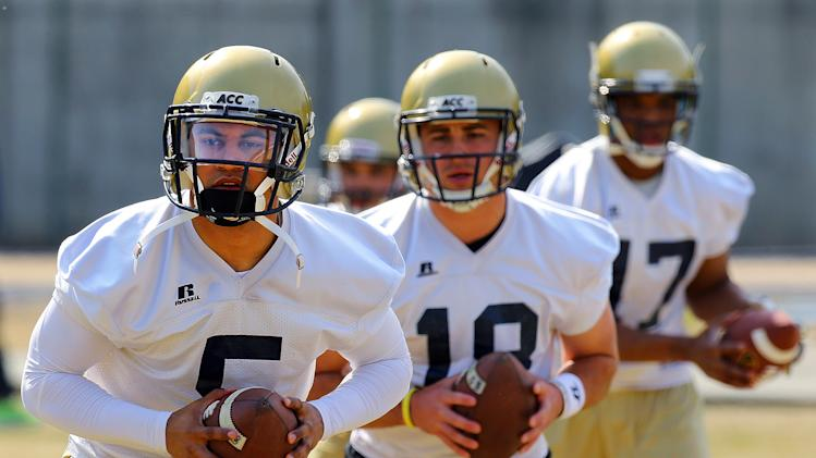 Thomas opens spring drills as top Georgia Tech QB