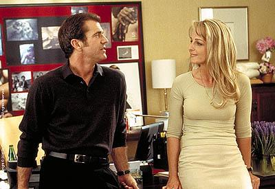 Mel Gibson and Helen Hunt in Paramount's What Women Want