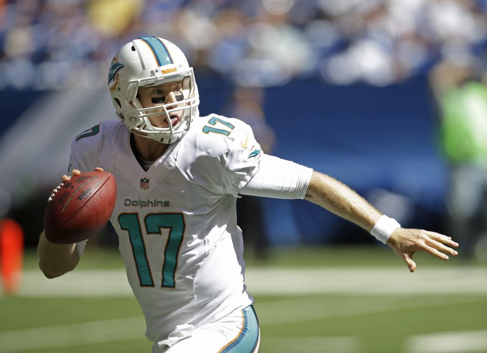 Tannehill limited in practice with sore shoulder