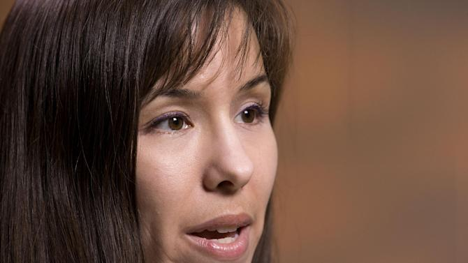Jodi Arias gives her first interview since pleading with jurors for her life Tuesday, May 21, 2013 at the Maricopa County Estrella Jail in Phoenix, AZ.  Jodi Arias was convicted of first-degree murder in the stabbing and shooting to death of Travis Alexander, 30, in his suburban Phoenix home in June 2008.   (AP Photo/The Arizona Republic, Rob Schumacher)  MAGS OUT, NO SELLS, NO INTERNET