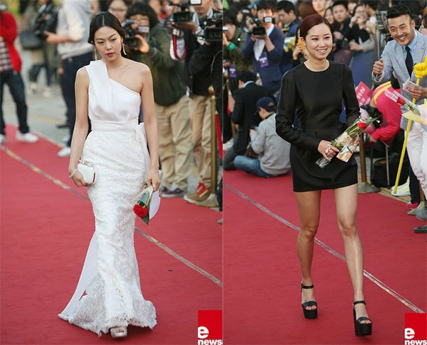 Red Carpet Styles at the 48th Paeksang Arts Awards