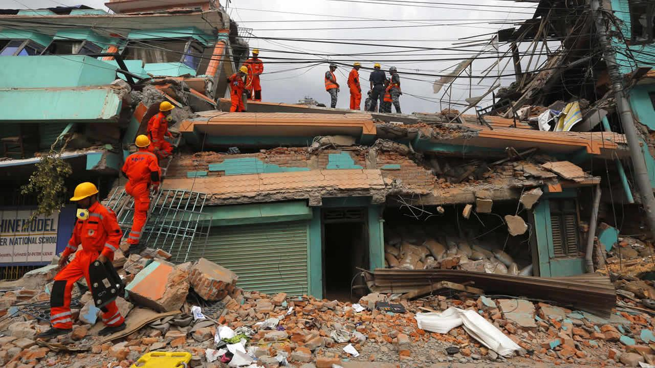 California sends 57 search and rescue workers to Nepal