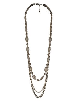 Classy beaded necklace, $7.80