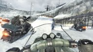 'Modern Warfare 3': rushing through the snow in a one horse open snowmobile
