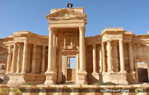 Islamic State fighters seized control of Palmyra -- …