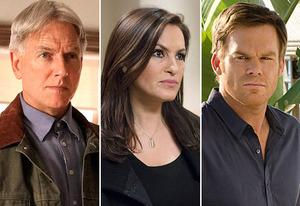 Mark Harmon, Mariska Hargitay, Michael C. Hall | Photo Credits: Sonja Flemming/CBS;Michael Parmelee/NBC;Randy Tepper/Showtime