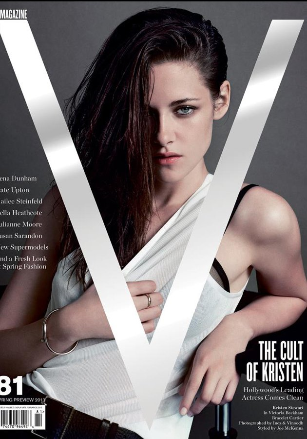 Download this Kristen Stewart Edgy Style Celebrated Fashion Forward Magazine picture