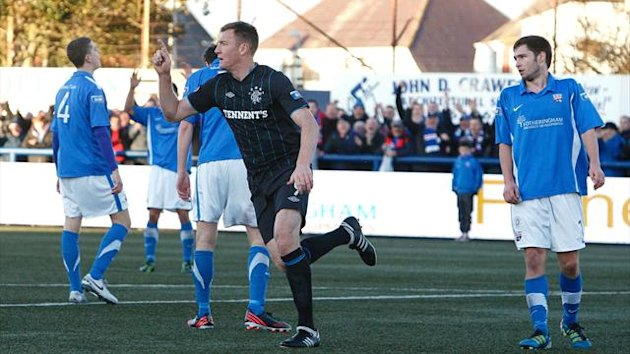 Kevin Kyle has been hailed by his team-mates and manager at Rangers