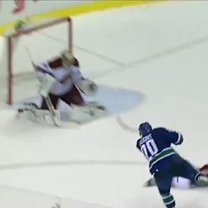 Chris Higgins beats Mike Smith for OT winner
