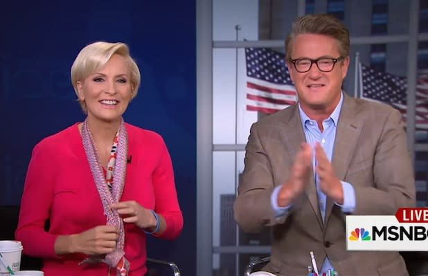 Joe Scarborough Thanks MSNBC Chief Andy Lack for Cleaning Up Liberal Network