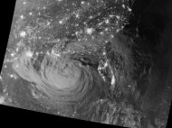 NASA's Suomi-NPP satellite snapped this spectacular photo of then-Tropical Storm Isaac at night from space early on Aug. 28, 2012, as the storm neared the U.S. Gulf Coast. The storm ultimately grew into a Category 1 hurricane before making land