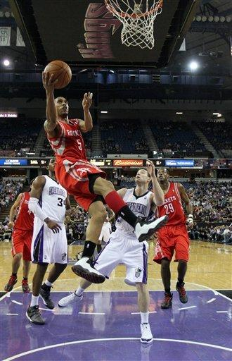 Lee scores 25 in Rockets' 104-87 win over Kings