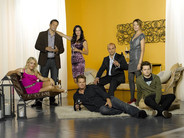 "The cast of ""Cougar Town."""