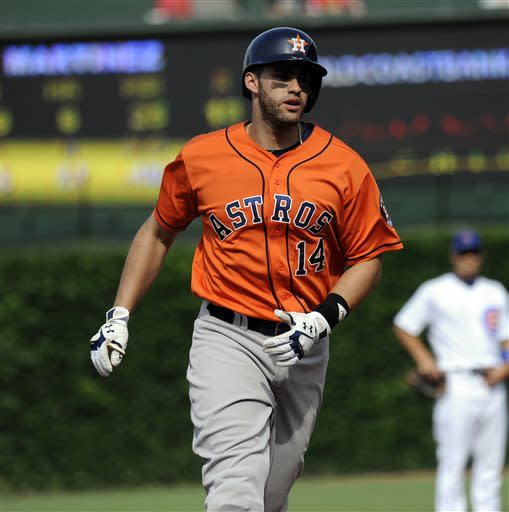 Cedeno, Martinez lead Astros past Cubs 4-3