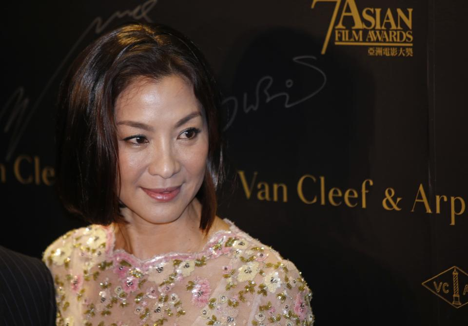 Michelle Yeoh honored at Asian Film Awards