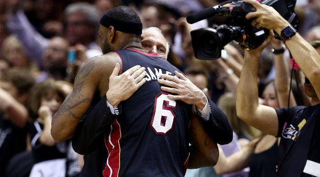Why LeBron James Really Wishes He Could Play For A Coach Like Gregg Popovich