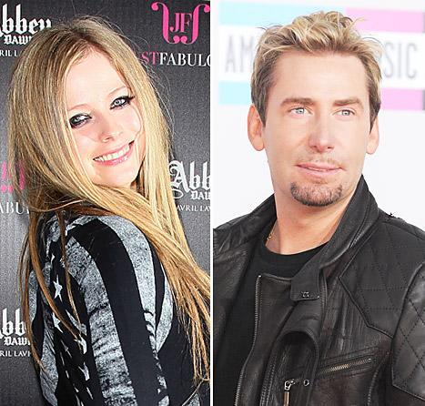Avril Lavigne Is Engaged to Chad Kroeger