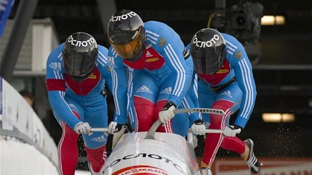 BOBSLEIGH Russia 1, piloted by Alexandr Zubkov (Reuters)