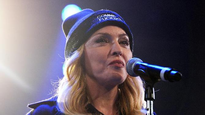 Madonna she decided to put out her new songs immediately after in-studio versions of her tracks dripped onto the Internet