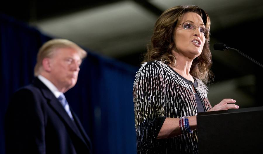 The 10 Most Questionable Things Sarah Palin Said During Donald Trump Endorsement Speech
