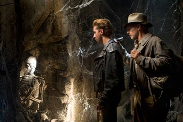 Shia LaBeouf and Harrison Ford in Paramount Pictures' Indiana Jones and the Kingdom of the Crystal Skull
