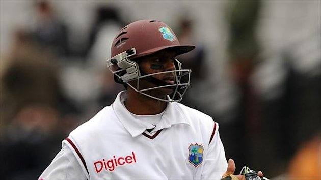 Shivnarine Chanderpaul reached his 29th Test century in the third Test against New Zealand at Hamilton.