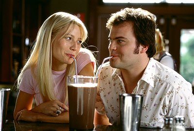 Gwyneth Paltrow and Jack Black in 20th Century Fox's Shallow Hal