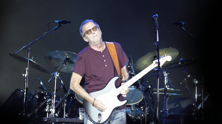 Clapton performs at the Spring Of Culture concert of Manama