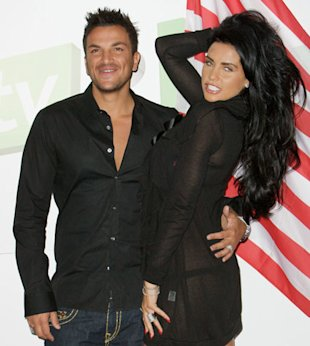 Katie Price and Peter Andre sex ban