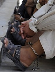File photo shows Taliban insurgents captured by security forces in Kandahar, Afghanistan. Last year&#39;s Arab Spring was a wake-up call to the Muslim world about the ability of social media to organise mass movements and communicate a message outside traditional channels