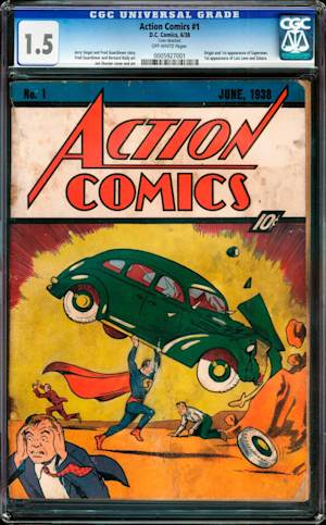 Superman Comic Book Goes for Sky-High $3.2M