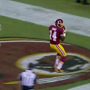 Washington Redskins wide receiver Ryan Grant hauls in 14-yard touchdown