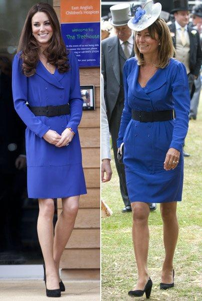 Kate dan Carole Middleton
