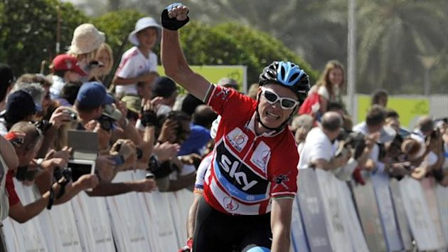 Chris Froome, Tour of Oman (Reuters)