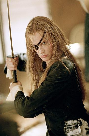 Daryl Hannah as Elle Driver in Miramax's Kill Bill Vol. 2