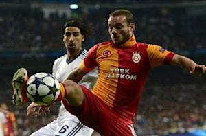 Sneijder: I'm happy at Galatasaray