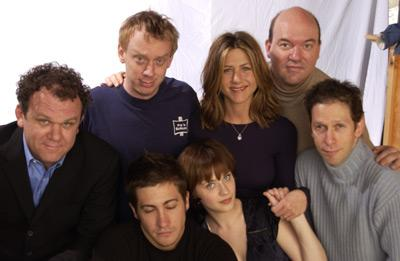 John C. Reilly, Mike White, Jake Gyllenhaal, Zooey Deschanel, Jennifer Aniston, John Carroll Lynch and Tim Blake Nelson The Good Girl Sundance Film Festival 1/12/2002