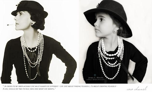 Forget Princesses Mom Photographs Daughter as Iconic Women