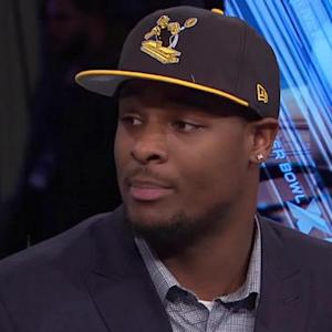 Pittsburgh Steelers running back Le'Veon Bell talks about knee injury, durability