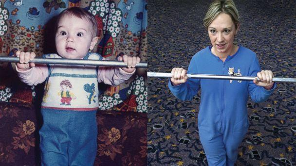 Siblings Recreate Childhood Photos for Parents