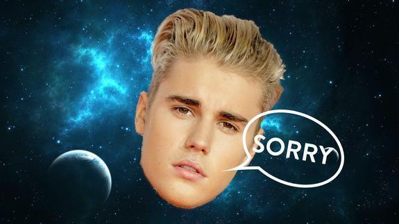 Black holes colliding remixed to Justin Bieber. Sorry, we had to.